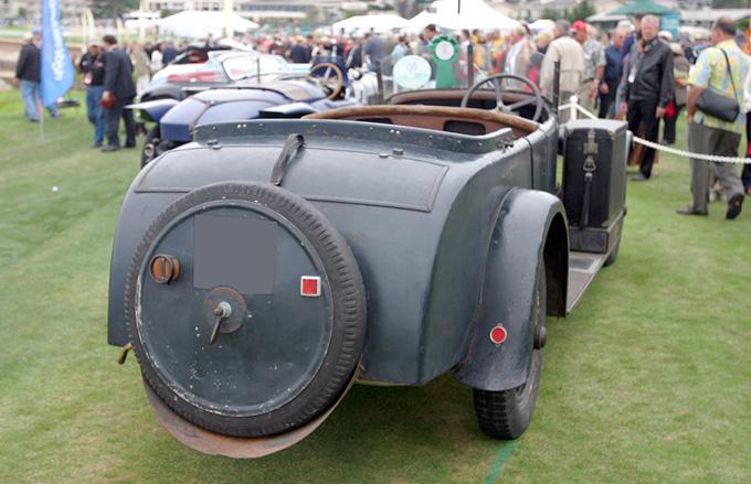 La Voisin C11 de 1927 exposée à Pebble Beach 2006